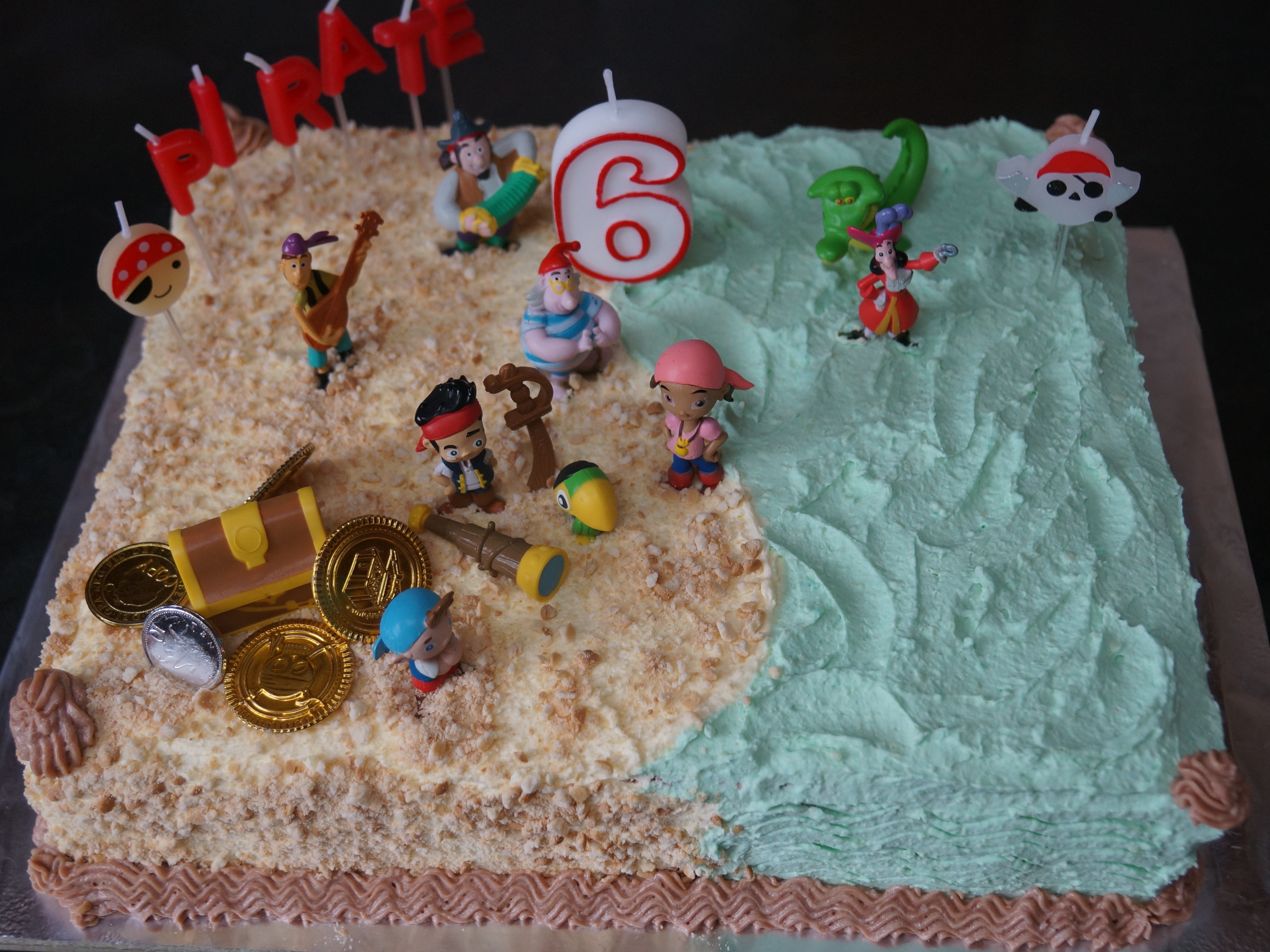 Jake And The Neverland Pirates Cake Natashas Cakes