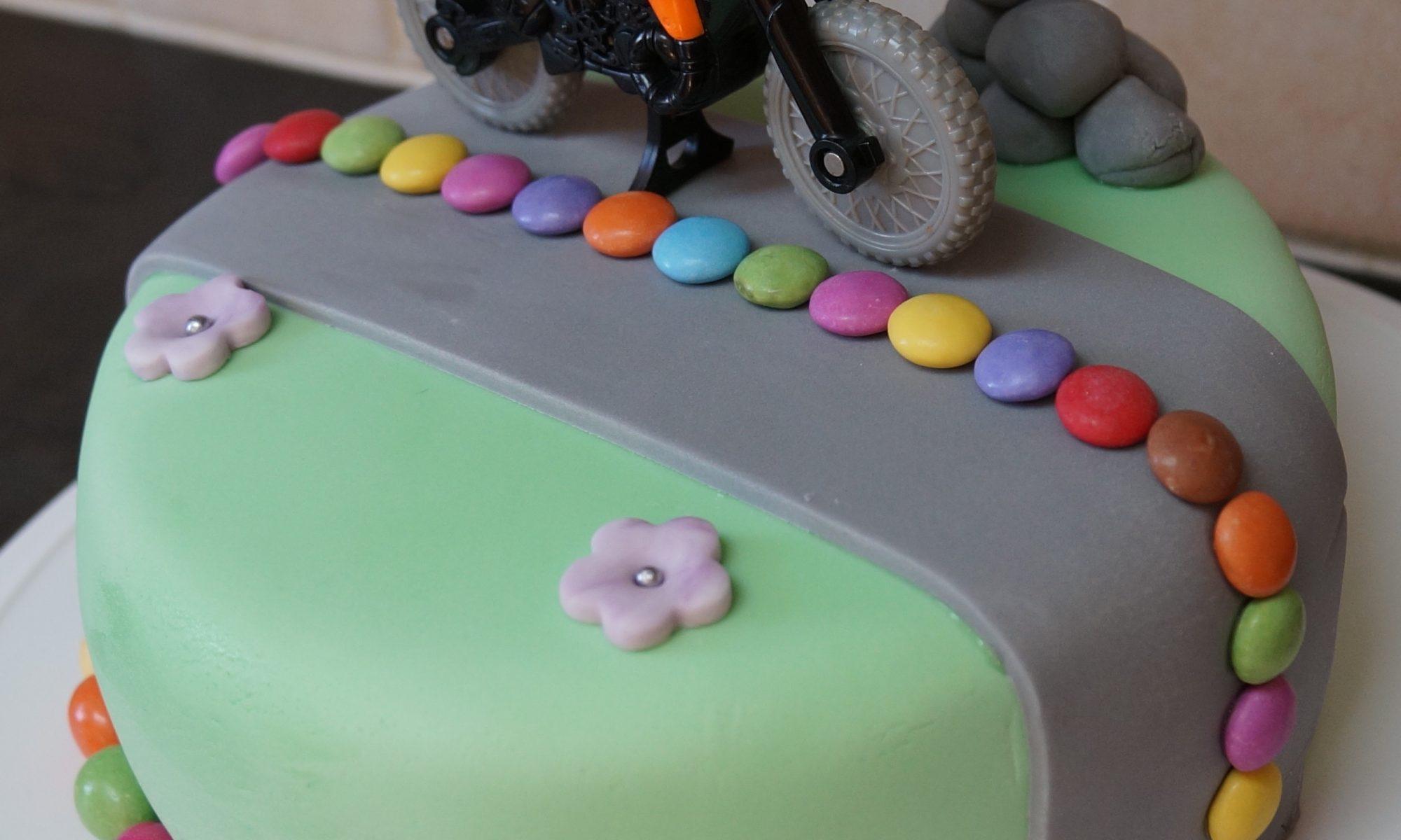 Home Kids Cakes Motorbike Cake